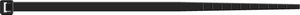 Стяжки кабельные SapiSelco SELFIT, черные, полиамид 6.6